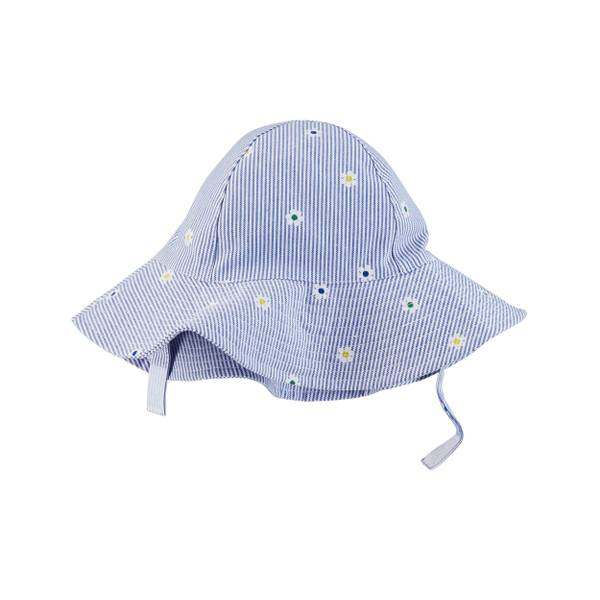 Little Girls' LC Sun Hat Blue