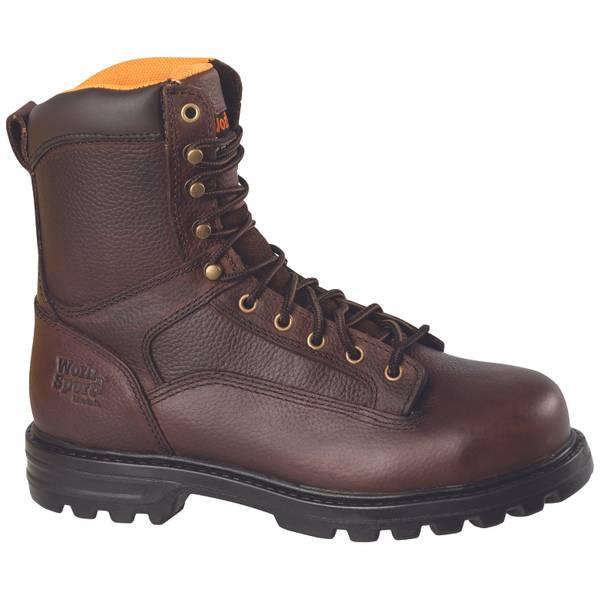 """Men's 9788 8"""" Steel Toe Work Boots"""