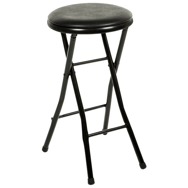 Black Folding Bar Stool St01
