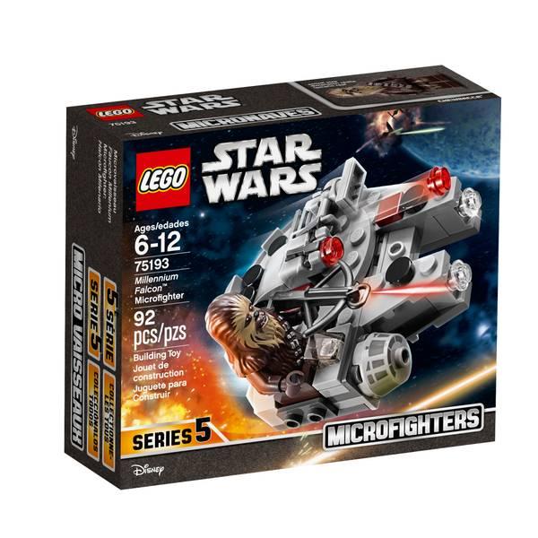 75193 Millennium Falcon Microfighter