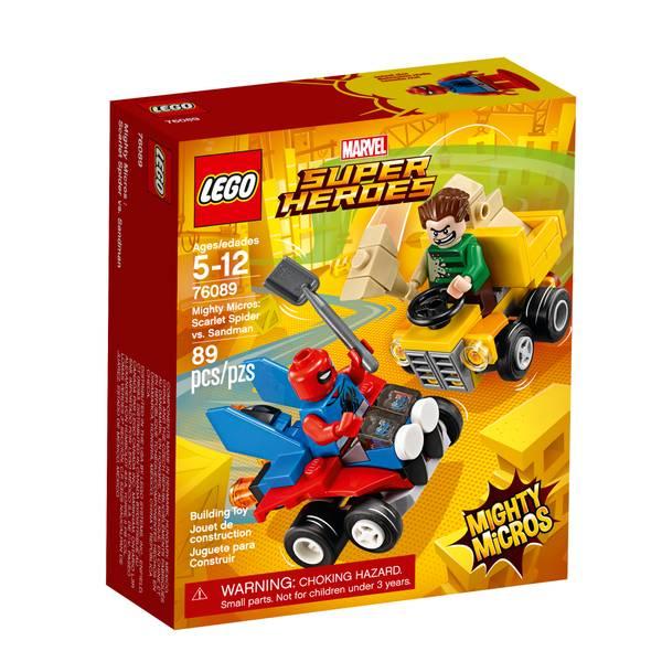 76089 Super Heroes Mighty Micros Scarlet Spider vs Sandman
