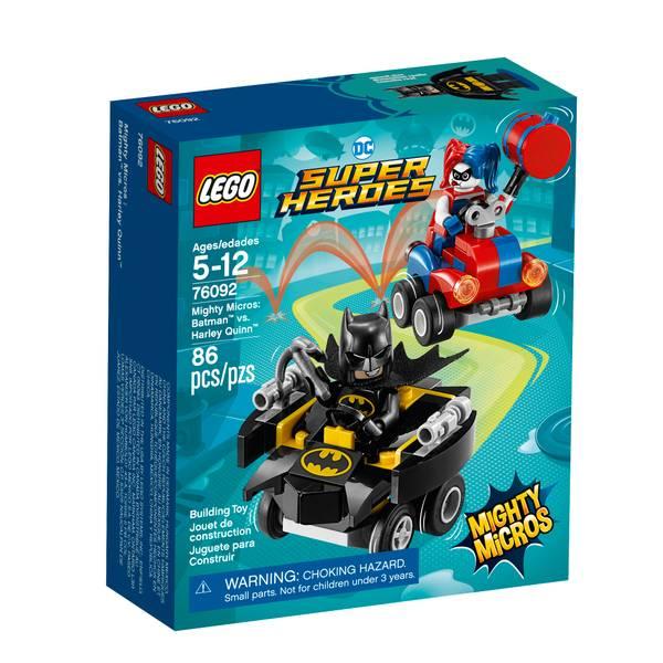 76092 Super Heroes Mighty Micros Batman vs Harley Quinn