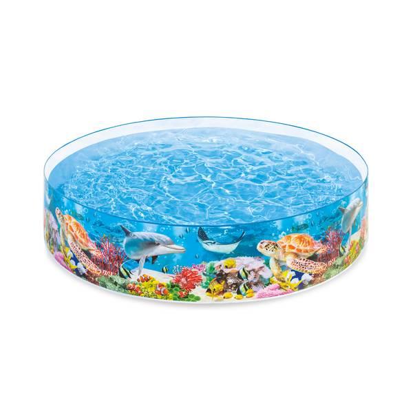 8' Deep Blue Sea Snapset Pool