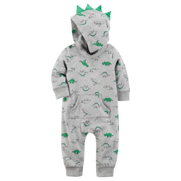 Baby Boy's Heather Spike Jumpsuit