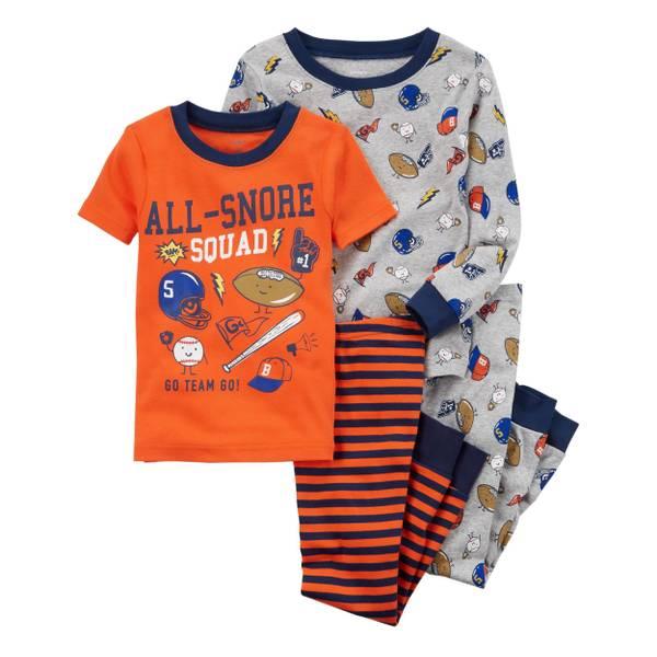 d0a4f1891293 Carter s Toddler Boys  4-Piece Snug Fit Cotton Pajamas