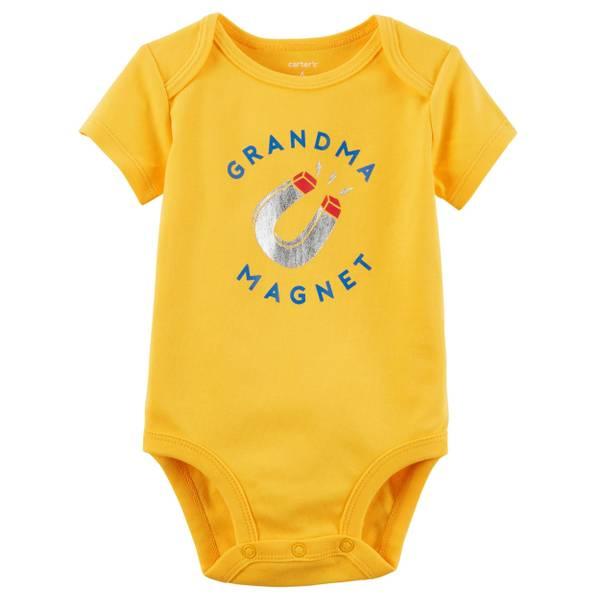 Baby Boy's Yellow Short-Sleeve Collectible Bodysuit