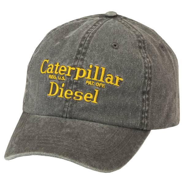 Mens' Black Diesel Cap