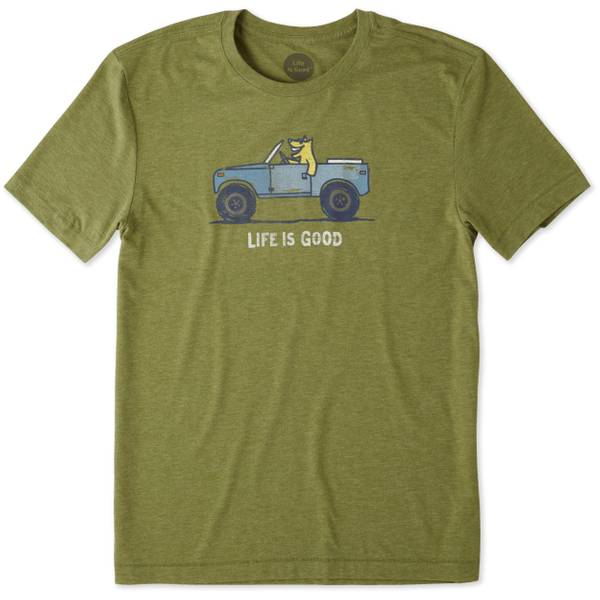 Men's Tree Green Short Sleeve Rocket Tee Shirt