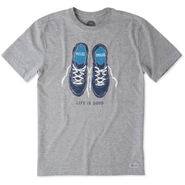 Men's Gray Short Sleeve Miles & Smiles T-Shirt