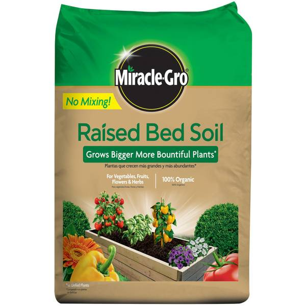 Miracle-Gro Raised Bed Soil - 73959430