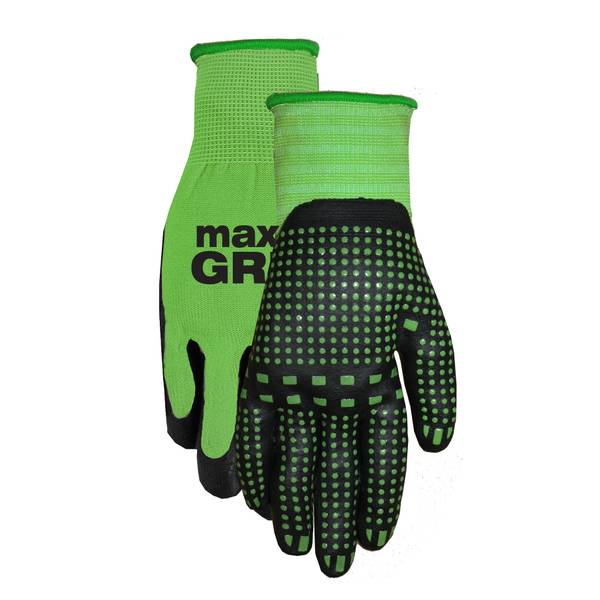 Women's Max Grip Nitrile Dot Work Gloves Assortment
