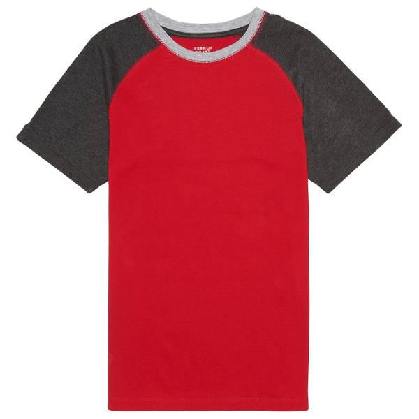 Little Boys' Short Sleeve Raglan Tee Shirt