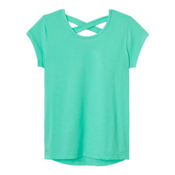 Little Girls' Cross Back Top