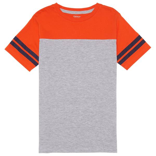 Boys' Short Sleeve Raglan Football T-Shirt