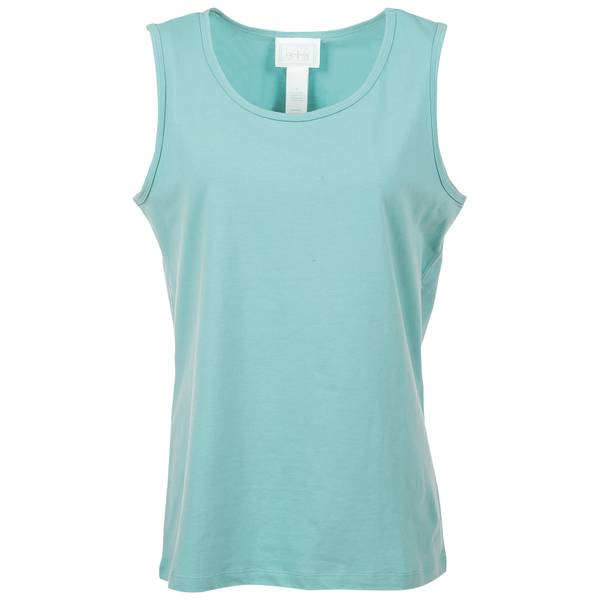 Women's Aqua Short Sleeve Tilly V-Neck Top