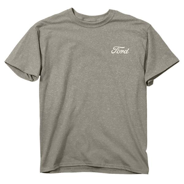 Men's Heather Gray Short Sleeve Ford Back Off T-Shirt