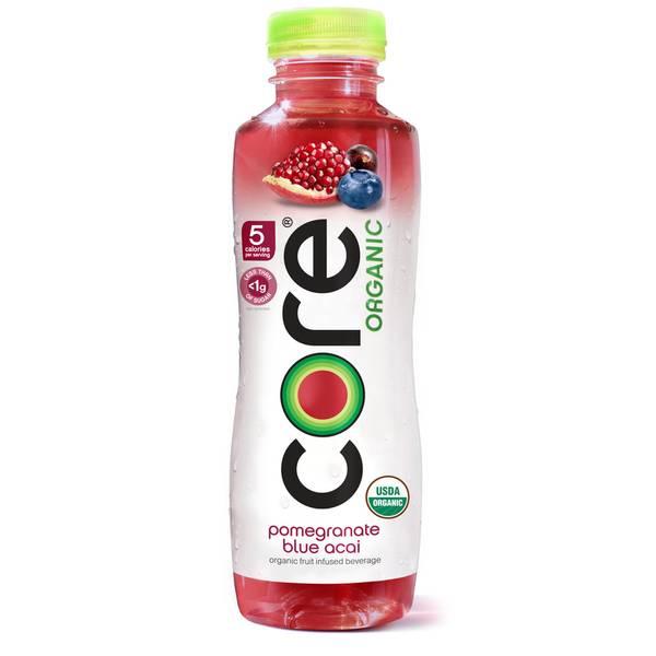18 oz Pomegranate Blue Acai Fruit-Infused Water