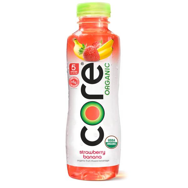 18 oz Strawberry Banana Fruit-Infused Water