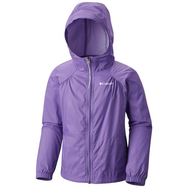 Girl's Pink Ice Switchback Rain Jacket