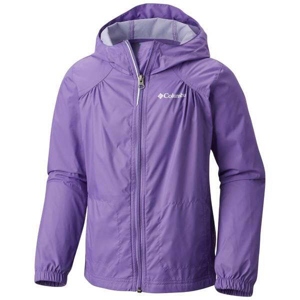 Girl's Pink Ice Switchback Rain Jacket