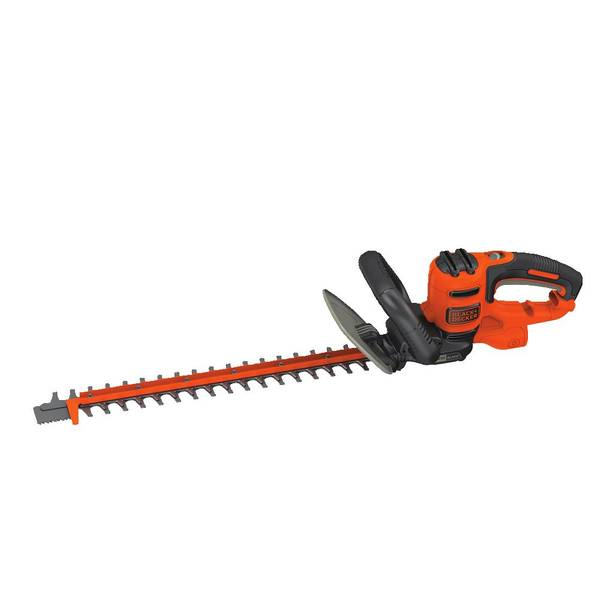 black decker 20 sawblade electric hedge trimmer. Black Bedroom Furniture Sets. Home Design Ideas