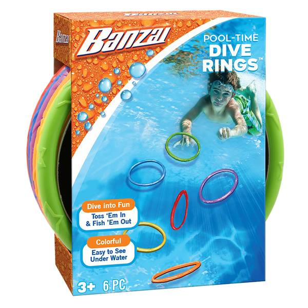Pool-Time Dive Rings