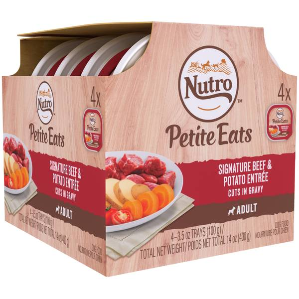 Petite Eats Adult 4-Count Mult-iPack Dog Food