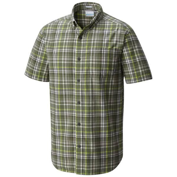 Men's Short Sleeve Rapid Rivers II Button Plaid Shirt