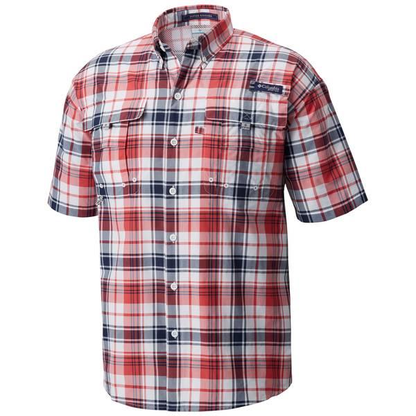 XL Super Bahama S/S Shirt Pld Sun Red