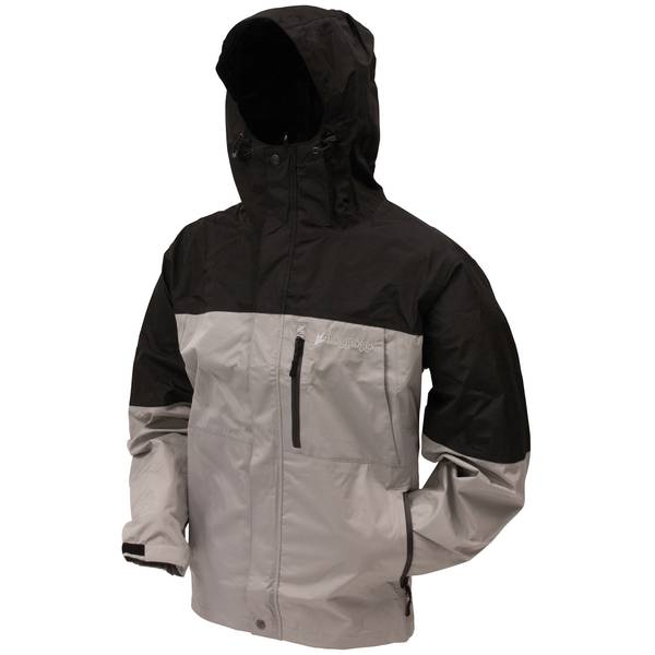 Men's Grey & Black Toadz Rage 2-Tone Jacket