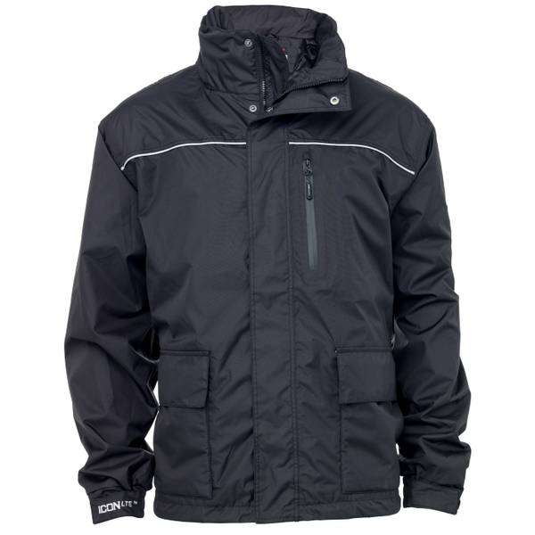 Men's Black Icon LTE Lightweight Waterproof Jacket