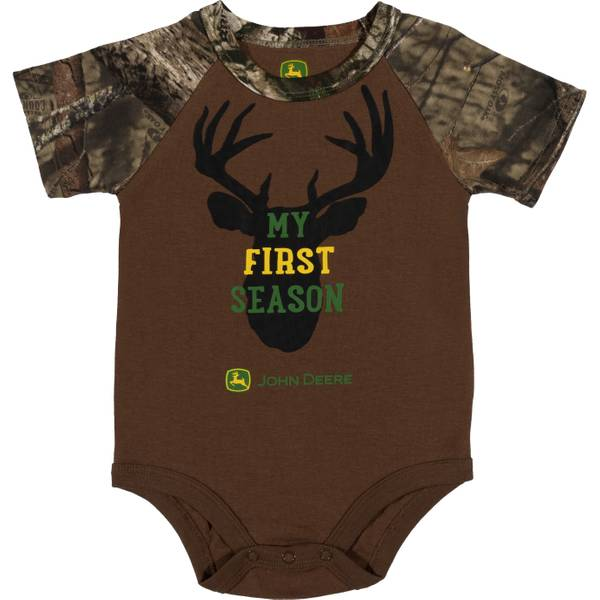 Boys' Camouflage Short Sleeve My First Season Bodysuit