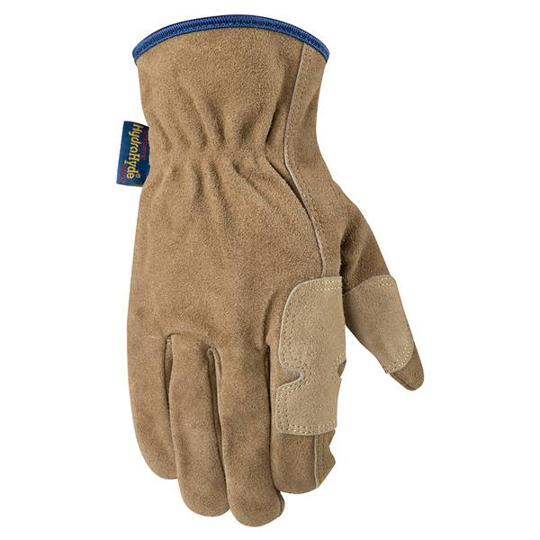 Men's Tan HydraHyde Suede Cowhide Fencer Gloves