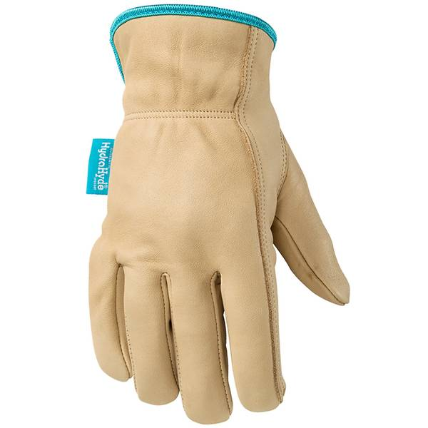 Women's Tan HydraHyde Cowhide Leather Gloves