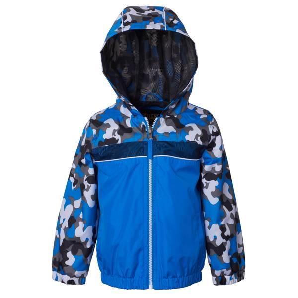 Toddler Boys' Royal Blue Camo Jacket