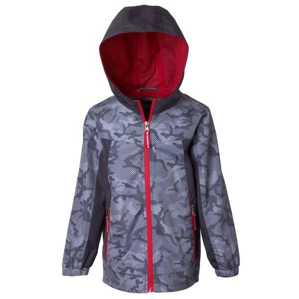 Little Boys' Camo Windbreaker Jacket