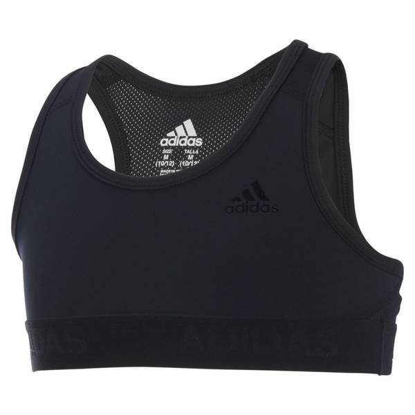 Girls' Black Gym Bra