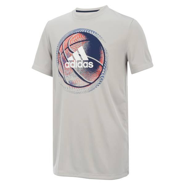 Boys' Short Sleeve Sport Ball Tee Shirt