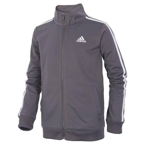 Boys' Grey Iconic Tricot Jacket