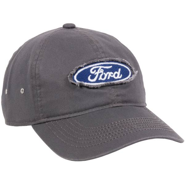Men's Charcoal Ford Logo Patch Cap