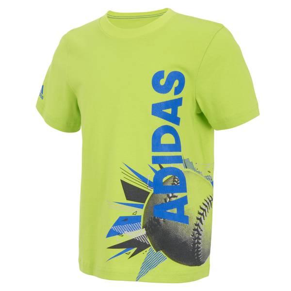 Boys' Short Sleeve Collage Ball Tee Shirt