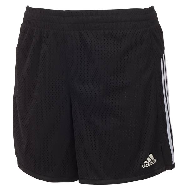 Girls' Black 5-Inch Mesh Shorts