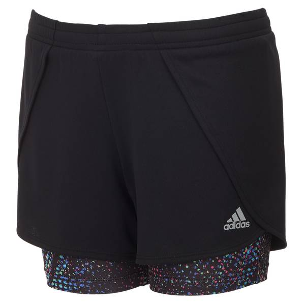 Girls' 2-in-1 Mesh Shorts