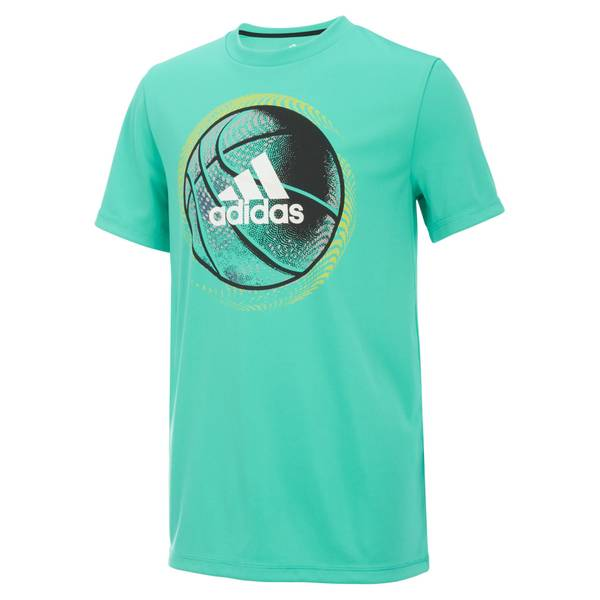 Boys' Short Sleeve Sport Ball Tee Shirt