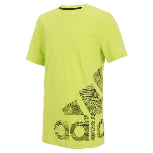Boys' Yellow Short Sleeve Speed Logo Tee Shirt
