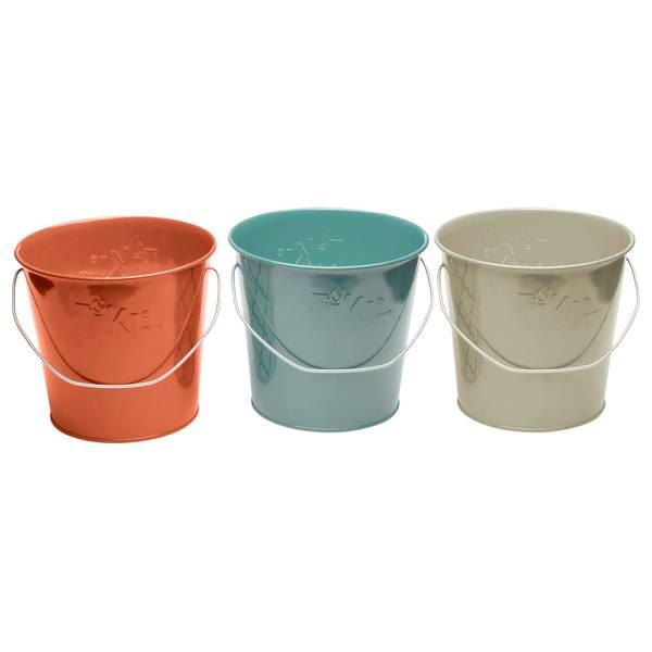 17 oz Seaside Escape Citronella Wax Bucket Candle Assortment