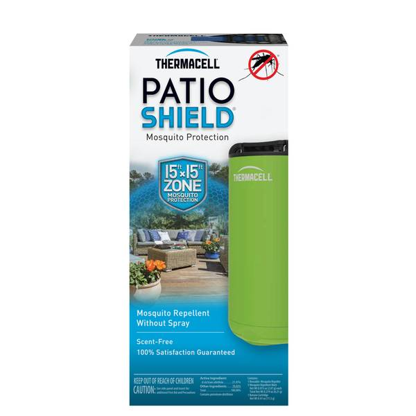 Green Patio Shield  Mosquito Repeller