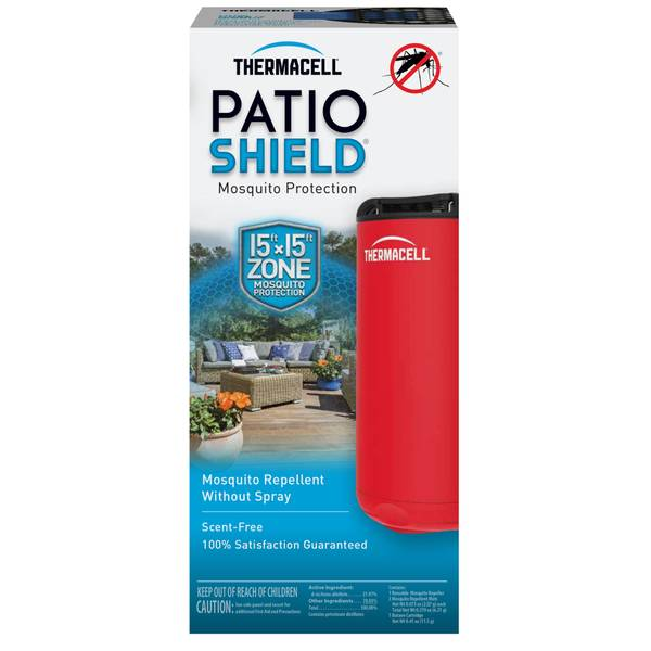 Red Patio Shield Mosquito Repeller