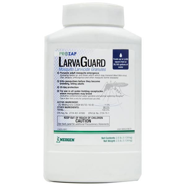ProZap LarvaGuard Mosquito Granule 2.5 lb