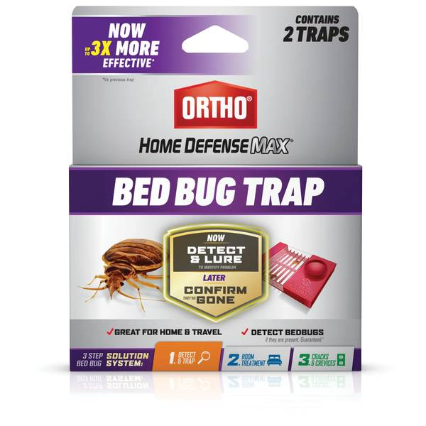 2-Pack Bed Bug Trap Home Defense